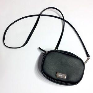 Nine West Crossbody Handbag Black Small Purse